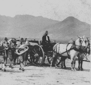 1914 Military Funeral On the Way To Fort Bliss