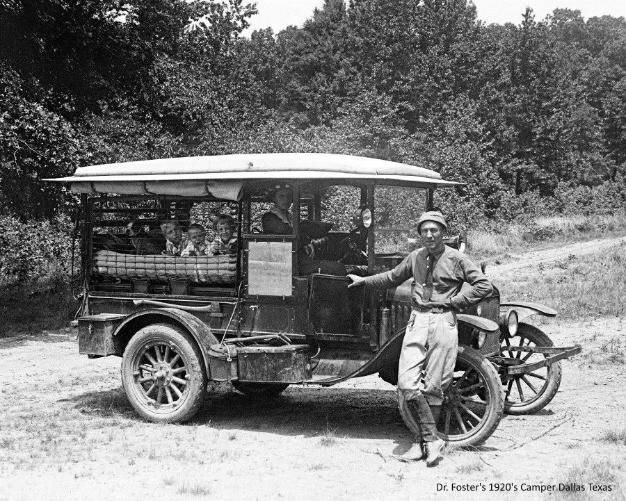 Car Camper in 1920