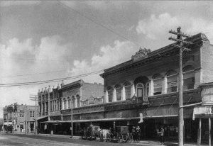 Amarillo - A block on Main Street date unknown