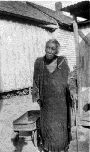 Ann Edwards, ex-slave, in Ft. Worth in 1937