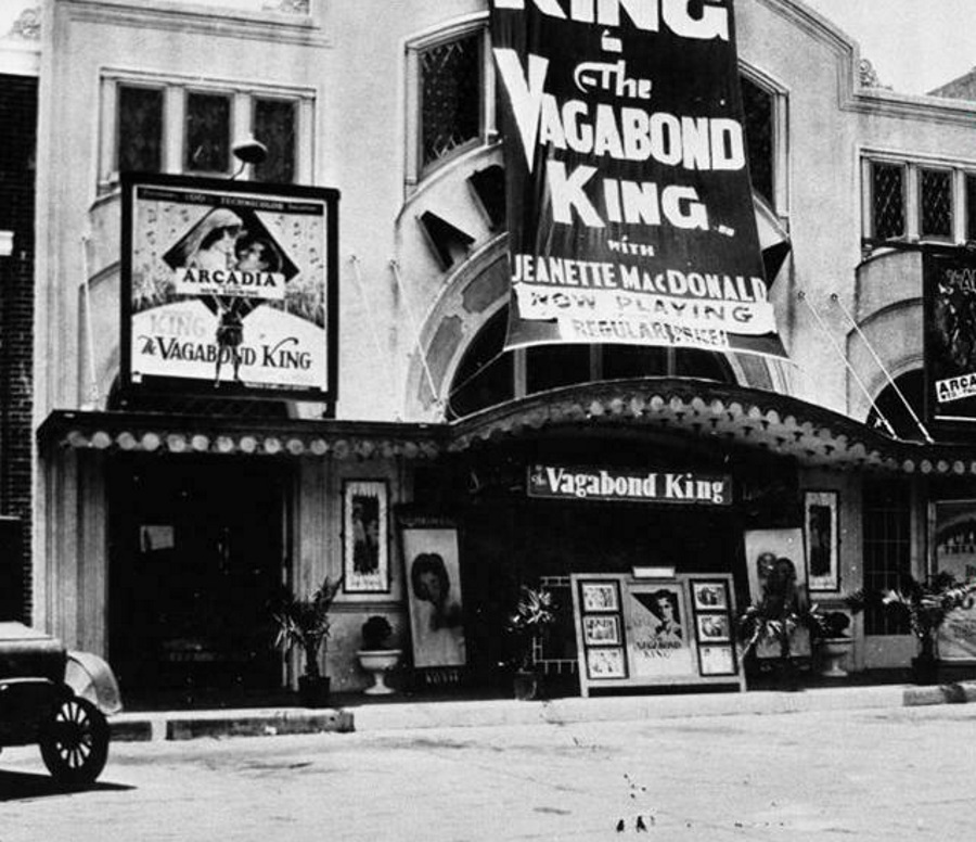 Arcadia Theatre Dallas Texas 1925