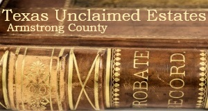 Armstrong County Unclaimed Estates