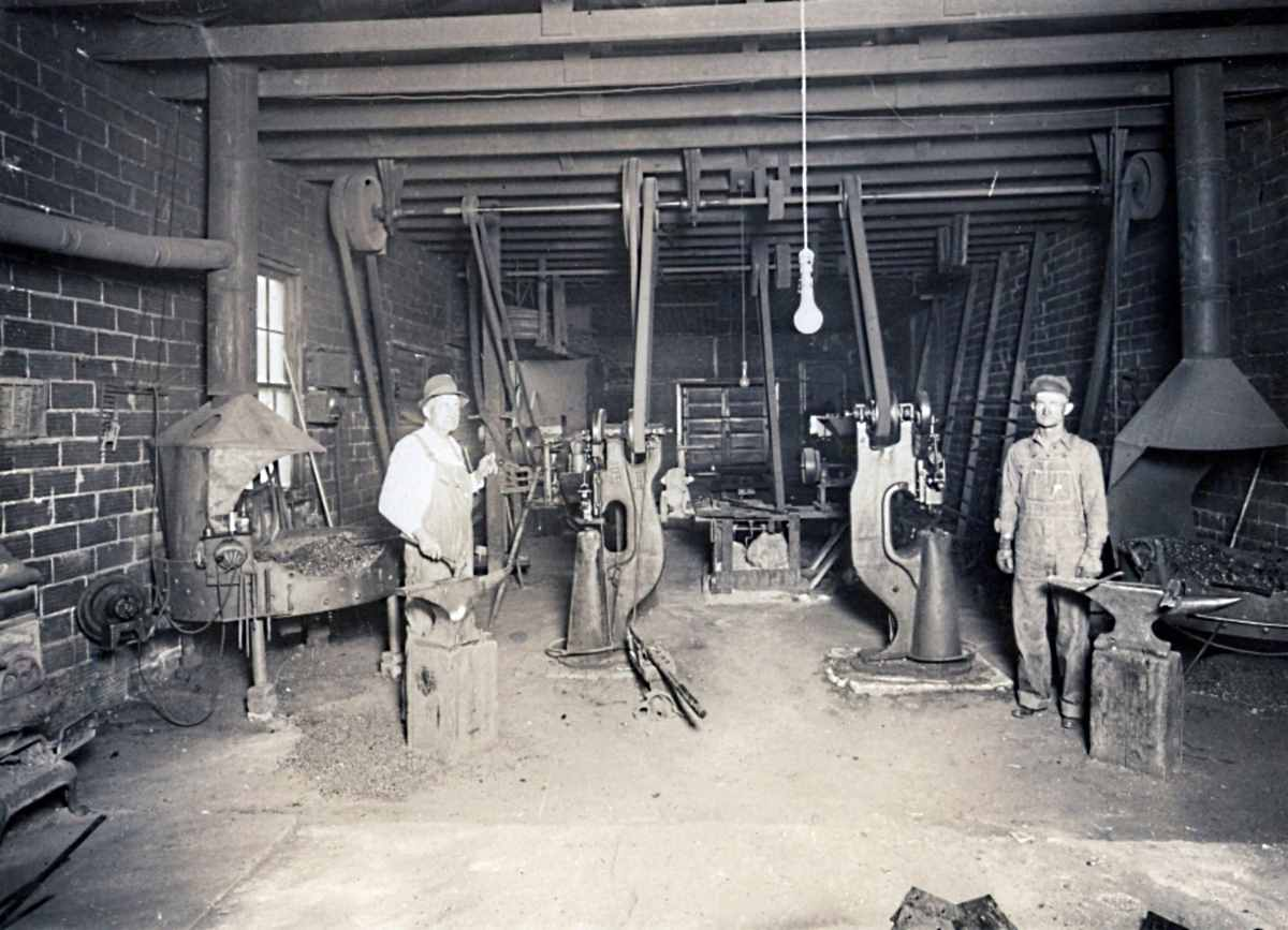 Blacksmith Shop in Slaton 1920s