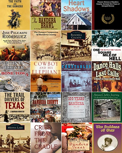 Books about Bandera County Texas People and Places