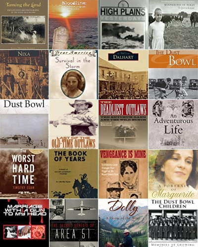 Books about Dallam County Tex People & Places