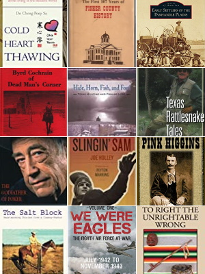 Books about Fisher County Texas People and Places