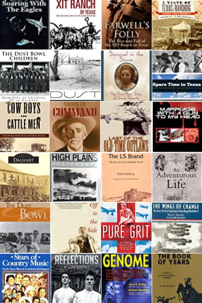 Books about Harley County Texas People & Places