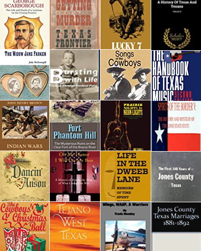 Books About Jones County Texas People and Places