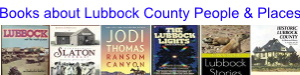 Books about Lubbock County People and Places