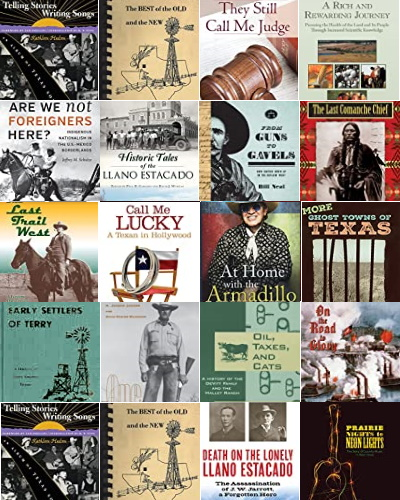 Books about Terry County Texas People & Places