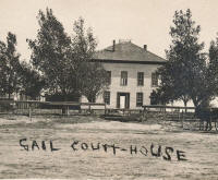 Borden County Courthouse - Gail Texas