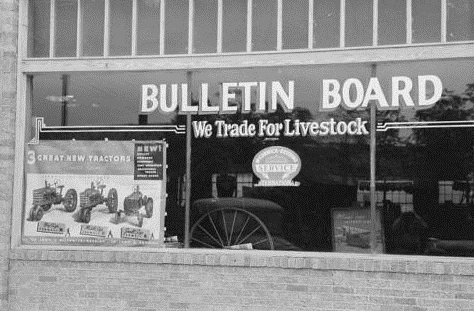 Brownwood Bulletin Board 1939
