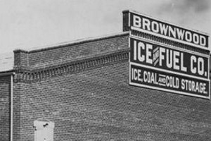 Brownwood Ice Co c1900
