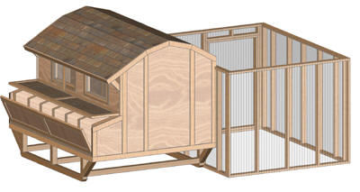 Chicken Barn - Large Henhouse