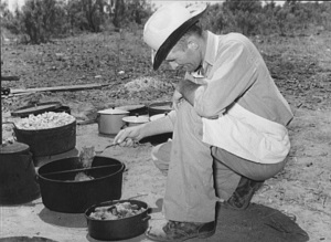 Cook of the SMS Ranch 1939