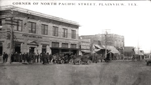 Corner of North Pacific Street, Plainview TX 1920