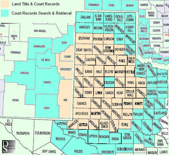 Court Records & Land Title Searches in 117 Rural Counties