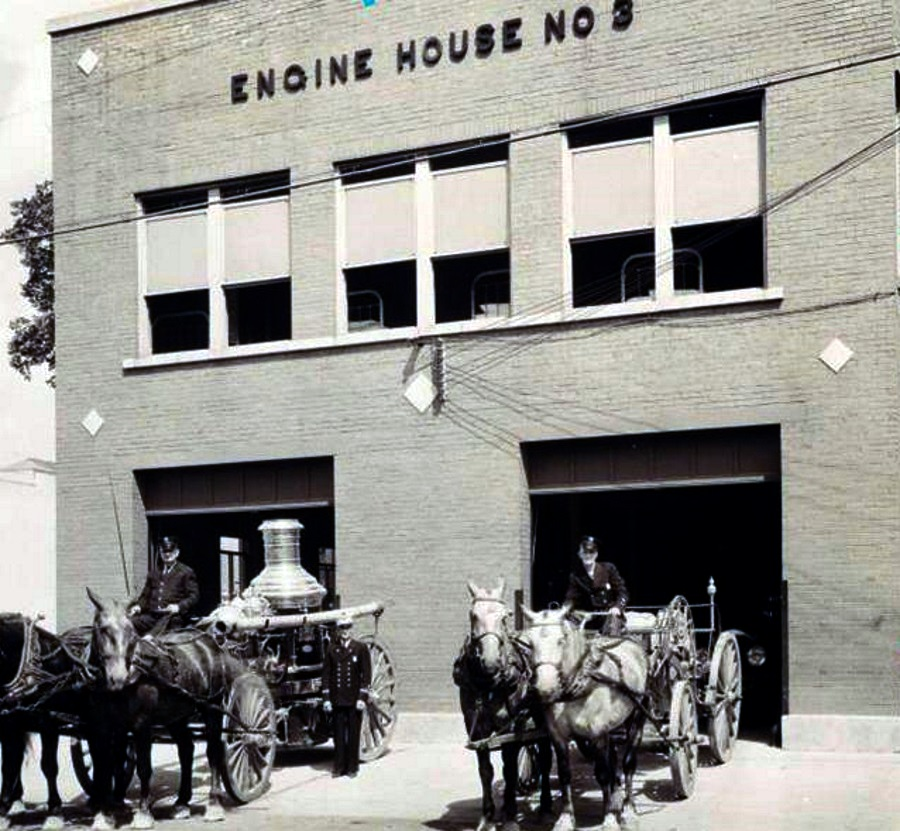 Dallas Fire Department Engine House 1920