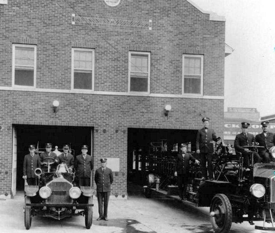 Richardson Texas Volunteer Fire Department 1930