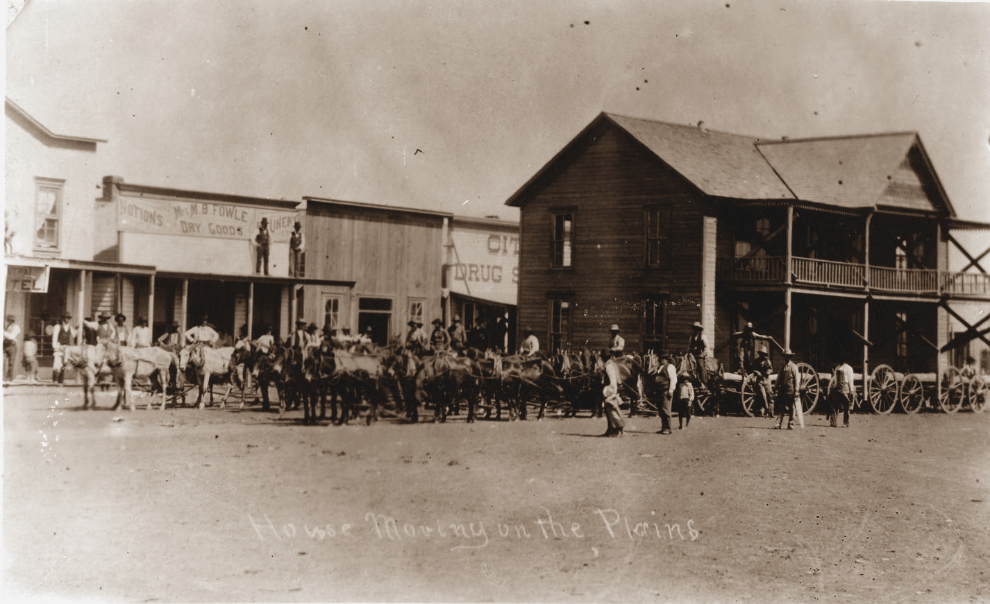 Dimmitt Hotel Moved to Plainview in 1893