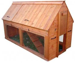Double Story Arc Chicken Coop