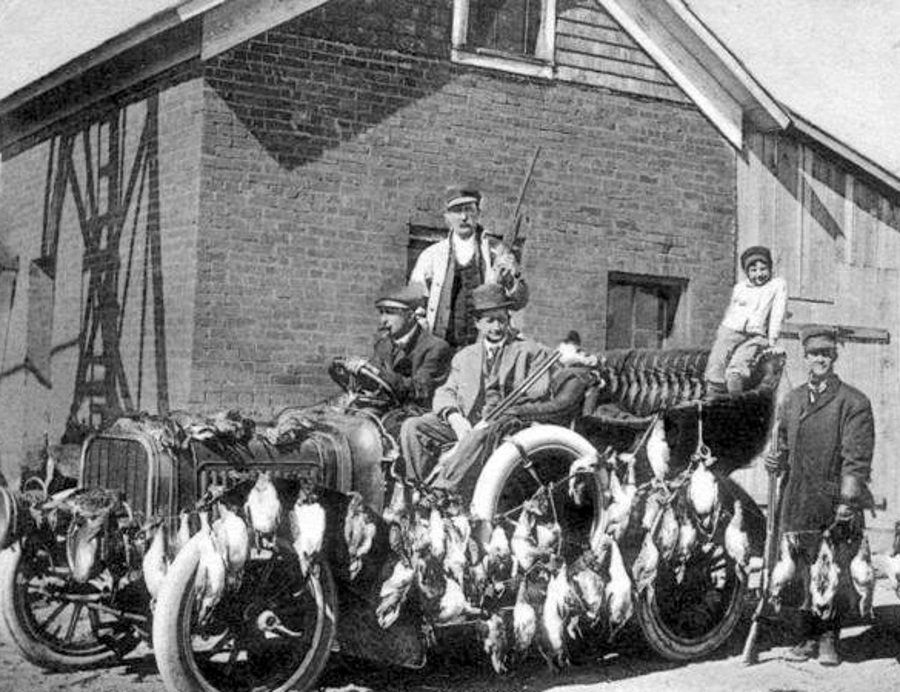 Duck Hunting in Potter County Texas 1909