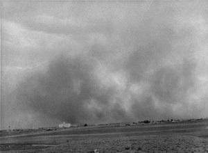Dust Storm Of 1939 in Lubbock Texas