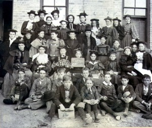 El Paso School Students 1897
