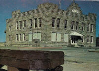 Esmeralda County Courthouse Goldfield NV Postcard