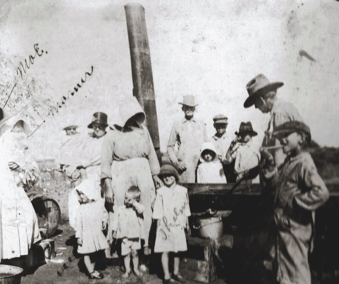 Family Gathering in Terry County Texas 1920's