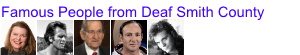 Famous People from Deaf Smith County Texas