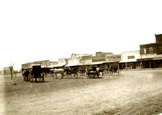 Floydada Texas about 1908