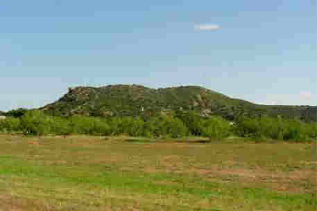 Gail Mountain in Borden County Texas