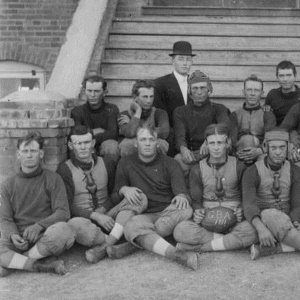 Goodnight Baptist Academy Football Team 1900