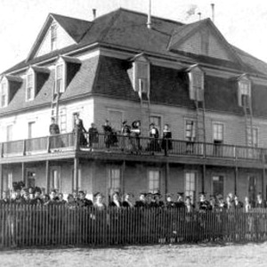 Goodnight College Girls Dorm - 1901