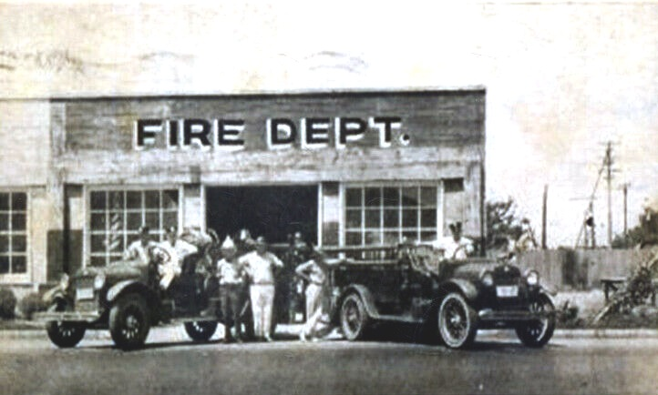 Grand Prairie Fire Department in 1920