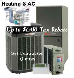 Get Quotes for $1500 - $3000 Rebates on Heating / AC Units