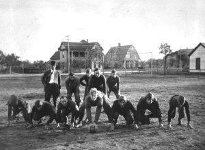 Howard Payne Football Team 1909