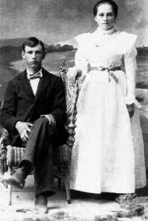 Jim & Byrd Wideman Jackson Wedding Stephenville 1900