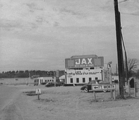 Jax Cafe on Hwy 80 Outside Fort Worth