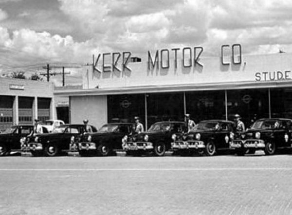 Car Dealerships In Lubbock Tx >> Studebaker Dealership In Lubbock Texas In 1950