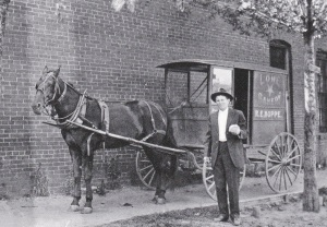 Lone Star Bakery Delivery Wagon Smithville
