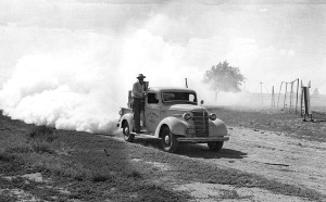 Lubbock's First Mosquito sprayer 1947