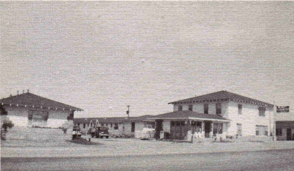 McNutt Courts Motel Brownfield Texas in 1939