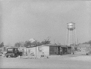 Midland Texas Home and Water Tower in 1939