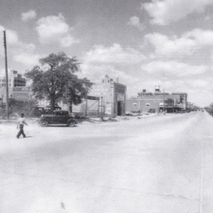 Main Street in Midland Texas in 1920's