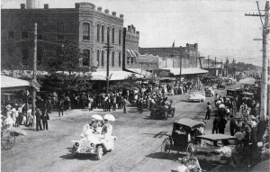 1918 Parade in Midland, Texas