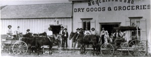 Murchison and Brothers Dry Goods 1800's Menardsville Tx
