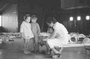 Nursery school children FSA Camp Sinton,Tx 1939