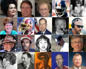 Famous People from Floyd County Texas (Collage)
